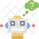 Robot Intelligence Artificial Icon