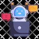 Robot Language Icon