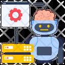 Web Engineering Robotic Web Data Web Dataserver Icon