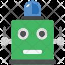 Robot Light Robotic Icon