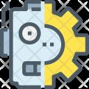 Robot Maintenance Management Icon