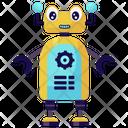 Robot Maintenance Icon
