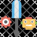 Robot Maintenance Setting Icon