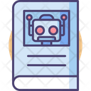 Robot Manual Robot Instructions Book Robot Instructions Icon