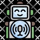 Robot Mic Robot Voice Robot Icon