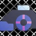 Robot Mower Smart Icon