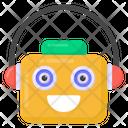Robot Music Icon