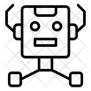 Robot Network Icon