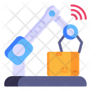 Robot Packaging Icon