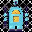 Robot Performance Mechanical Robot Bionic Man Icon