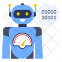 Robot Efficiency Robot Coding Robot Software Icon