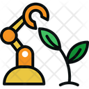 Robot Plant Icon