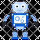 Robot Processing Bionic Man Humanoid Icon