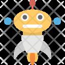 Robot Rocket Intelligence Robotic Icon