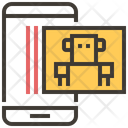 Robot Scan Icon