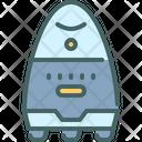 Security Robotic Robot Icon