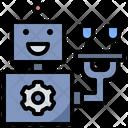 Service Robot Ai Icon