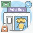 Robot Shop Icon