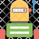 Robot Slot Machine Icon