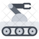 Robot Space Science Icon