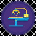 Robot Surgeon Icon