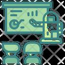 Robot Teaching Teaching Automaton Icon