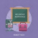 Robot Tech Website Icon