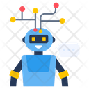 Chatting Robot Robot Technology Robot Assistant Icon