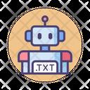 Robot Txt Robot Robo Icon