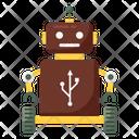 Robot USB Icon