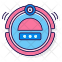 Robot Vacuum Cleaner Icon