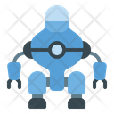 Robot With Legs Icon