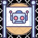Robot Zone Robot Area Robotic Area Icon