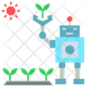 Robotic Labour Cultivation Icon