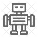 Robotic Toy Technology Icon