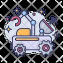 Robotic Machine Galaxy Icon