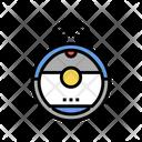 Robotic Vaccum Cleaner Icon