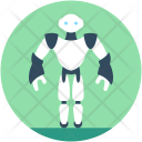 Robotic Technology Spherical Icon