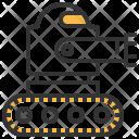Robotic Crawler Robot Icon