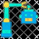 Robot Robotic Arm Science Icon