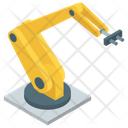 Robot Hand Machine Industrial Robot Robot Technology Icon