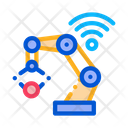 Smart Robot Internet Icon
