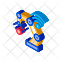 Smart Robot Technology Icon