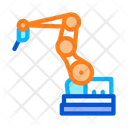 Manufacturing Robotic Arm Icon