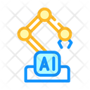 Robotic Arm Color Icon