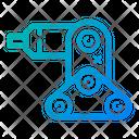 Electronic Engineering Hand Icon