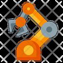 Robotic Arm Automation Machine Icon