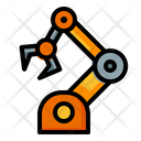 Robotic Arm Automation Machine Icon