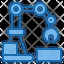 Robot Arm Architecture Intelligen Icon