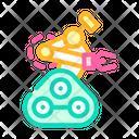 Robotic Arm Color Icon